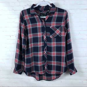 Rails Plaid Long Sleeve Shirt Flaw
